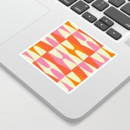 Zaha Sixties Sticker