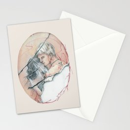 14/02 : Love Triangle  Stationery Cards