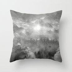 Black and White - Wish You Were Here (Chapter I) Throw Pillow