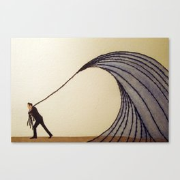 """For you I know I'd even try to turn the tide."" - Johnny Cash Canvas Print"