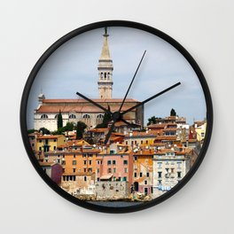 Rovinj Wall Clock