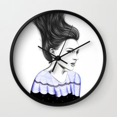 WIND TUNNEL Wall Clock