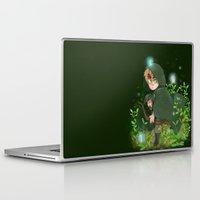 hetalia Laptop & iPad Skins featuring Albion by kitkatkatee