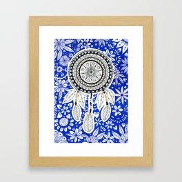 Dreamcatcher Mandala Framed Art Print