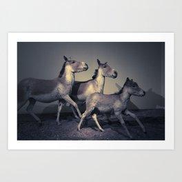 the embalmed pony show Art Print
