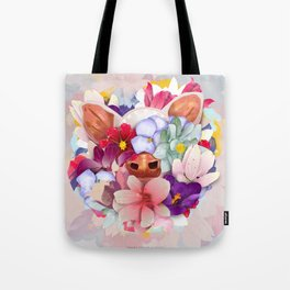 Always Flowers Tote Bag