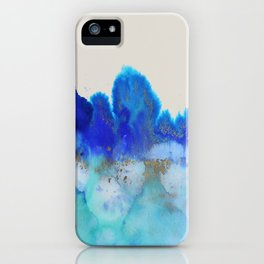 me and the sea iPhone Case
