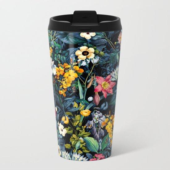 Exotic Garden Metal Travel Mug