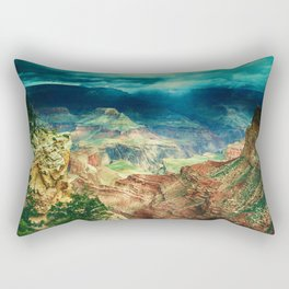 Grand Canyon Digital Paint Rectangular Pillow