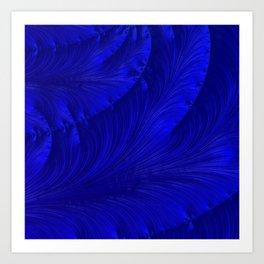 Renaissance Blue Art Print
