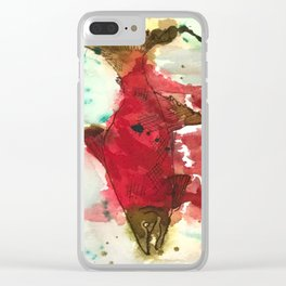 Sockeye Season Clear iPhone Case