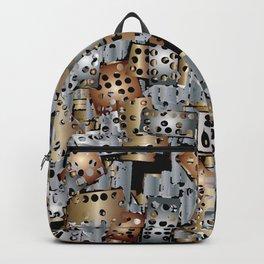 metal scraps Backpack