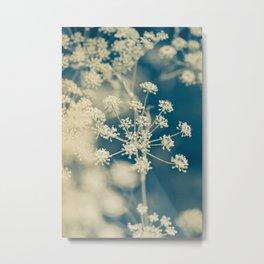 Indigo Dill Botanical Study 2 Metal Print