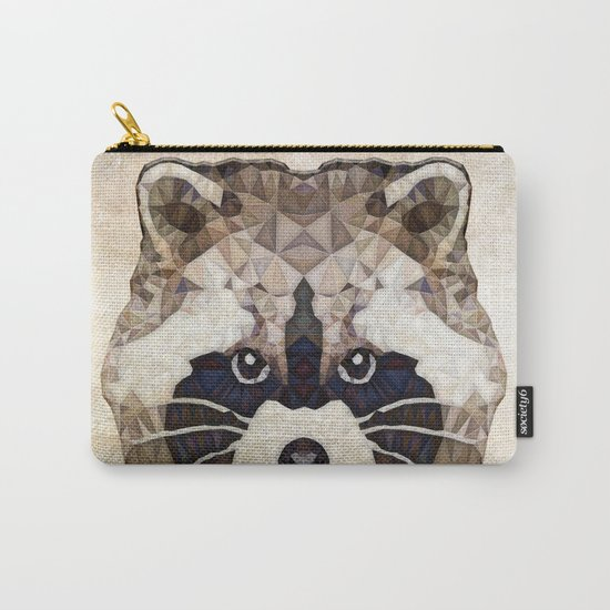 Racoon Carry-All Pouch