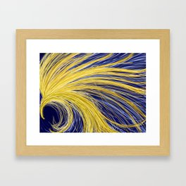 Light Burst's - Golden Light 1 Framed Art Print