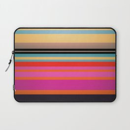 Sunset Stripes Laptop Sleeve