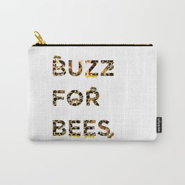 Buzz for Bees Carry-All Pouch