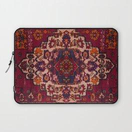 Vintage Moroccan Rug Design B17 Laptop Sleeve