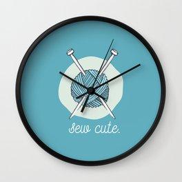 Sew Cute. Wall Clock