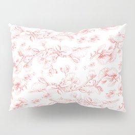 Red pohutukawa pattern Pillow Sham