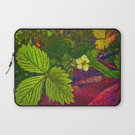 Wild Strawberry Plant Laptop Sleeve