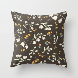 Whispering Lily Throw Pillow