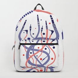 Jackworms of Underground Music Backpack