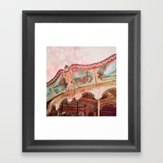 I Heart my Carousel Framed Art Print