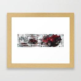 re:jeep Framed Art Print