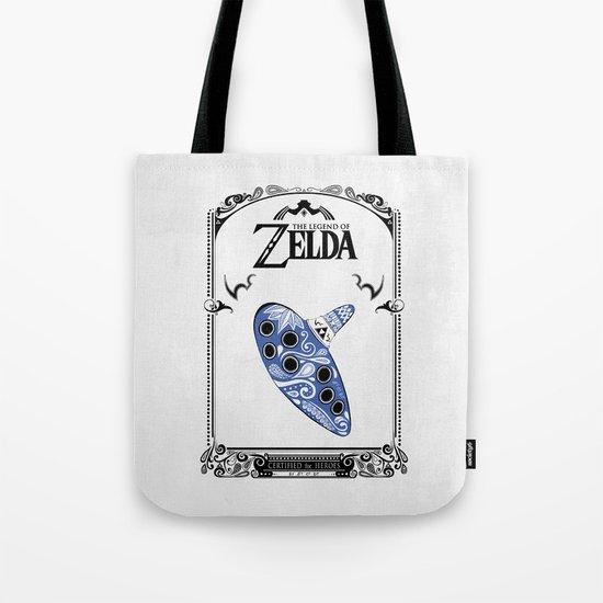 Zelda legend - Ocarina of time Tote Bag