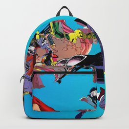 Abstract Comic Inspired Backpack