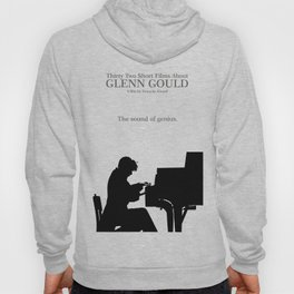 Glenn Gould, Thirty two short films about Glenn Gould,  François Girard, music poster, piano design Hoody