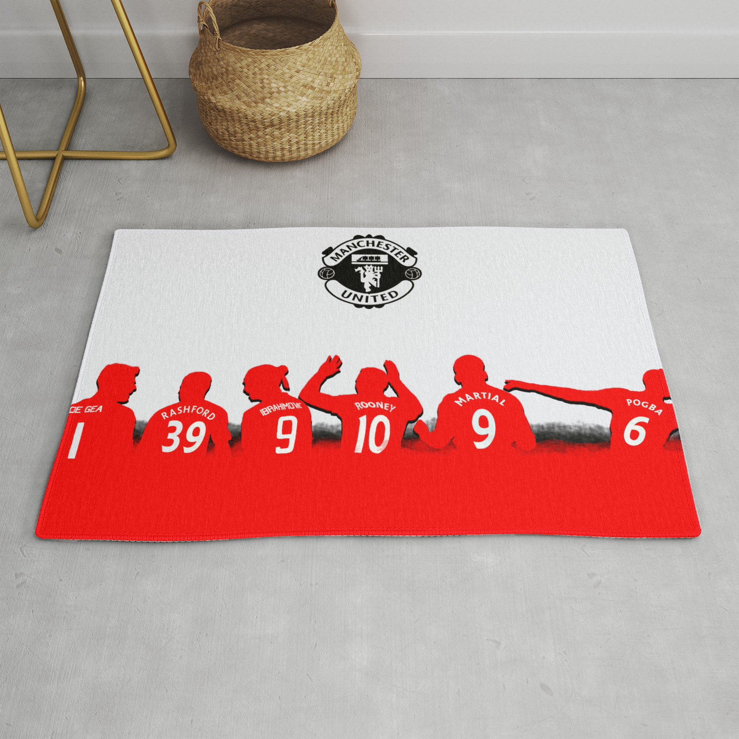 United Silhouette Rug By Lefrogart