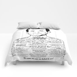 Bill Murray Tattooed Ghostbusters Comforters