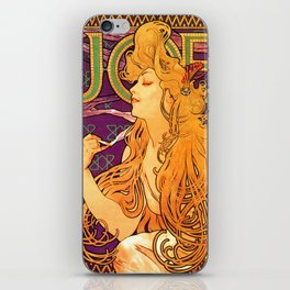 Vintage Woman iPhone Skin