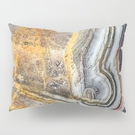 Crazy lace agate extreme closeup Pillow Sham