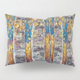 Colorful Autumn Aspen Trees  Pillow Sham