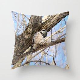 Sizing you up Throw Pillow