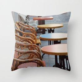 Tables Throw Pillow