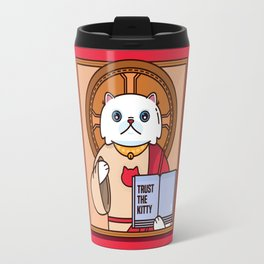 Trust the kitty Travel Mug