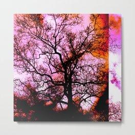 Impressions, tree I Metal Print