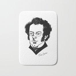 Franz Schubert Bath Mat