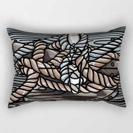 Knotical Rectangular Pillow