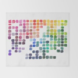 Favorite Colors Throw Blanket