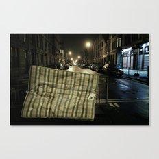 A mattress of faith Canvas Print