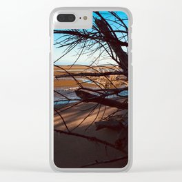 Erosion - Weathered Endless Beauty 3 Clear iPhone Case