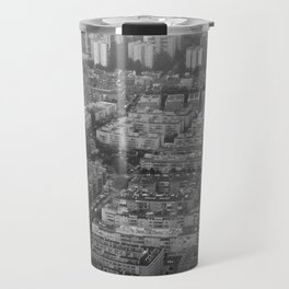 Suburbs in Madrid Travel Mug