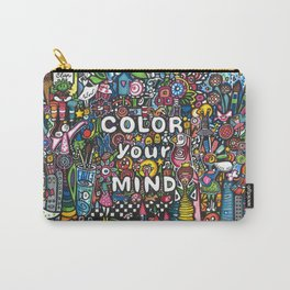 color your mind by Astorg Audrey Carry-All Pouch
