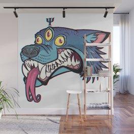 PsyWolf (no text) Wall Mural
