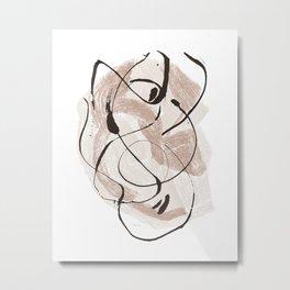 Abstract Shape Metal Print